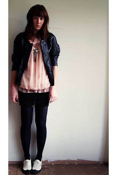 calvin klein skirt - i 3 billy shoes -  jacket -  dress