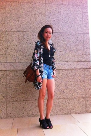 PROENZA SCHOULER bag - Love Boat shorts