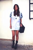florette paquerette shirt - Jeffrey Campbell x Wildfox Couture boots