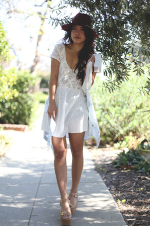free people dress - Forever 21 wedges