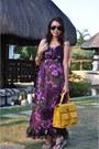 Random-brand-dress-random-brand-bag