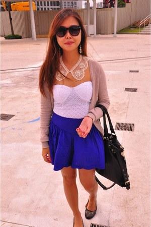 Forever21 skirt - Forever 21 bodysuit