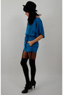 Blue-vtg-from-rock-paper-vintag-shorts