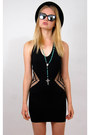 Black-cutout-bodycon-vintage-from-rock-paper-vintage-dress