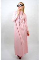light pink maxi vintage from Rock Paper Vintage dress