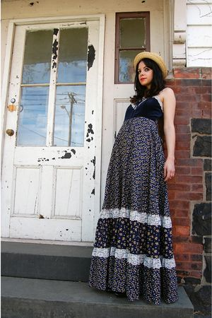 blue Gunne Sax dress