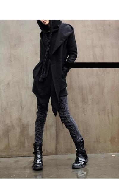 cf171263f96f Men s Black Dior Homme Boots, Gray Diabro Jeans