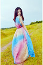 Bubble-gum-colorful-malaysian-brand-dress
