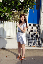MinkPink dress - vintage belt - rubi shoes