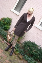 Marc by Marc Jacobs leggings - Nine West boots - banana republic sweater - Prada