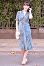 Periwinkle-orla-kiely-dress-off-white-french-and-english-confectioners-bag
