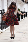 Maroon-katie-louise-ford-dress-off-white-vintage-tights-tawny-lush-bag