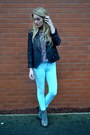 Gray-ellatino-boots-aquamarine-fm-boutique-jeans-black-goldie-london-jacket