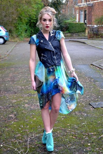 aquamarine mint lita boots Boohoo boots