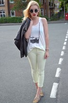 cream Max C top - light yellow Only jeans