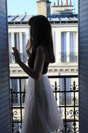Naf Naf skirt - H&M bodysuit