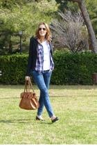 leggings - shirt - shoes - top - blazer - accessories