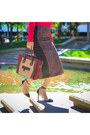 Pencil-skirt-just-cavalli-skirt-roberto-cavalli-sweater-celine-purse