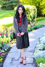 Crimson-zara-jacket-black-love-moschino-purse-black-zara-skirt