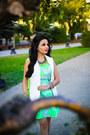 Zara-vest-floral-print-topshop-dress-h-m-bag-asos-flats