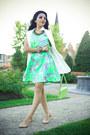 Floral-print-topshop-dress-h-m-bag-zara-vest-asos-flats
