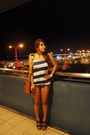 London-accessories-tawny-cole-vintage-bag-bronze-levis-shorts