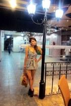 H&M dress - Jeffrey Campbell boots - Miu Miu bag