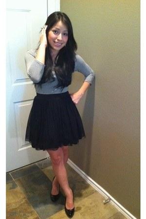 Forever21 dress - black BCBG heels