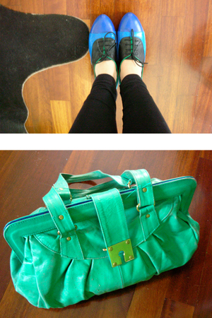 surface to air shoes - Jocas purse