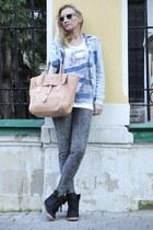 Lapalette bag - Zara shirt - Ray Ban sunglasses - Koton pants - Topshop sneakers