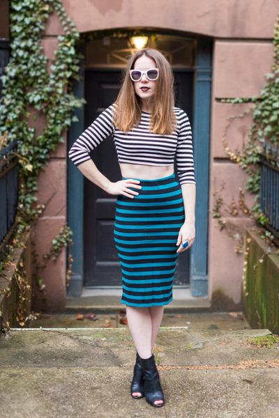 necessary clothing t-shirt - Forever 21 skirt