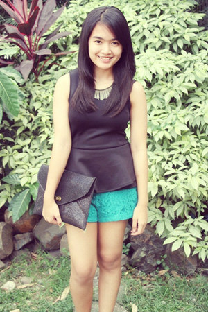 apartment 8 top - Forever 21 shorts