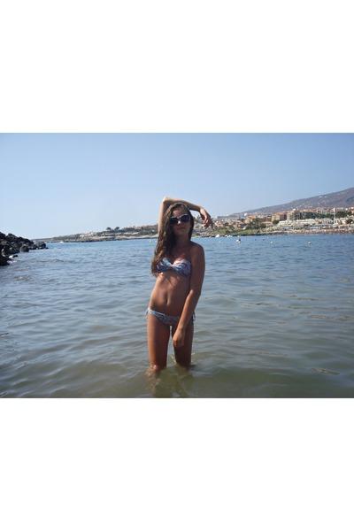 white random brand sunglasses - aquamarine BLANCO swimwear