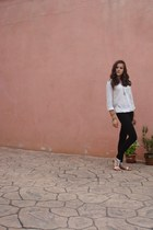 Zara leggings - Bershka shirt
