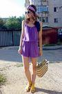 Purple-velvet-by-graham-spencer-redeemed-on-chictopia-scarf-yellow-poison-