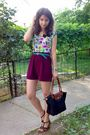 Top-shorts-green-belt-longchamp-purse-black-nicolis-black