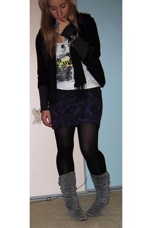 Princess Highway blazer - Bauhaus top - Valleygirl skirt