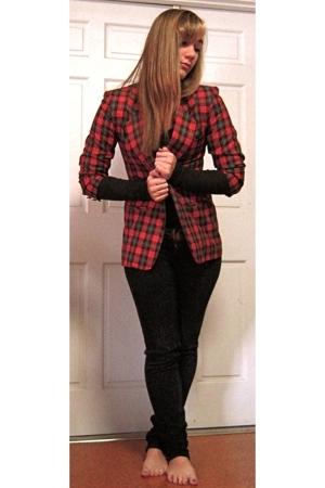 vintage blazer - Cheap Monday jeans