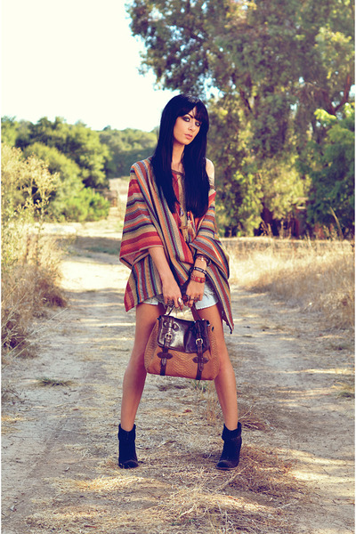 Cynthia Vincent bag - Jeffrey Campbell boots - foreign exchange top