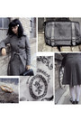 Black-vintage-bag-gray-tweed-oasis-coat
