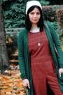 Forest-green-görtz-17-shoes-tawny-tiger-printed-vintage-bag