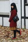 Troll-coat-pichard-bag-chanel-flats-vinatge-accessories
