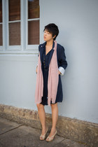 Kanzi coat - glebe markets dress - Charles & Keith heels