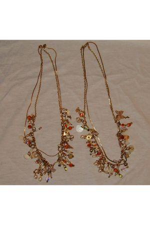 orange my own design necklace
