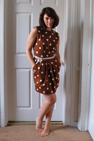 Pretty Polka Dot Dress Polka Dot Sally Ann Dress