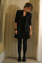 thrifted blazer - Forever21 dress - Combination Forever21Hand-Me-Down Mothers ac