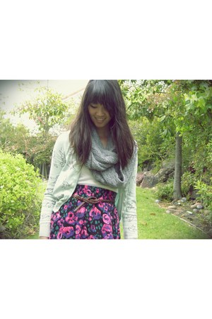 H&M cardigan - Nordstrom skirt