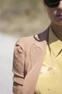 Bronze-zara-blazer-bronze-oysho-shorts