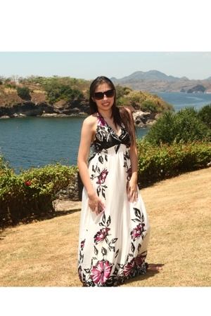nothing but water dress - Marc by Marc Jacobs sunglasses - Havaianas