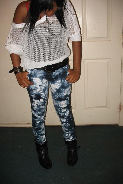 thift store shirt - Levis pants - THIRFT STORE shoes